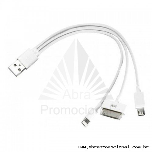 Cabo USB 3 Entradas